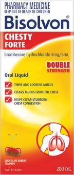 Bisolvon<sup>®</sup> Chesty Forte Liquid