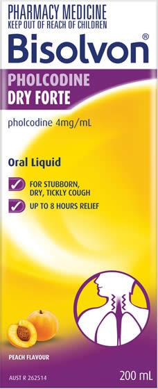 Bisolvon<sup>®</sup> Pholcodine Dry Forte Liquid
