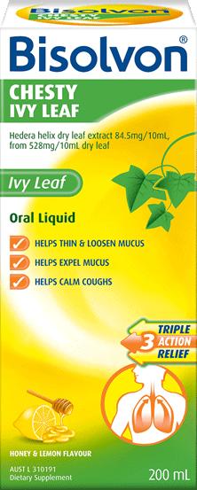 Bisolvon<sup>®</sup> Chesty Ivy Leaf Liquid