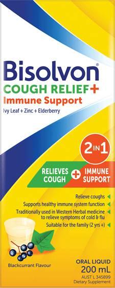 Bisolvon Cough Relief + Immune Support